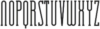 Essenziale Slab otf (400) Font LOWERCASE