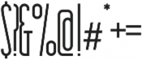 Essenziale otf (400) Font OTHER CHARS