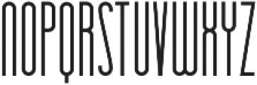 Essenziale otf (400) Font UPPERCASE