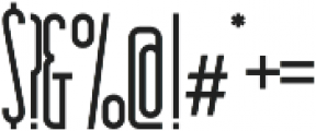 Essenziale otf (700) Font OTHER CHARS