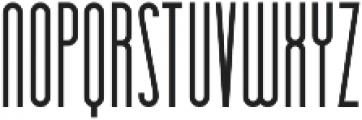 Essenziale otf (700) Font LOWERCASE