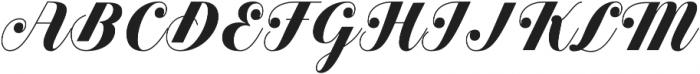 Estampa Script Bold otf (700) Font UPPERCASE
