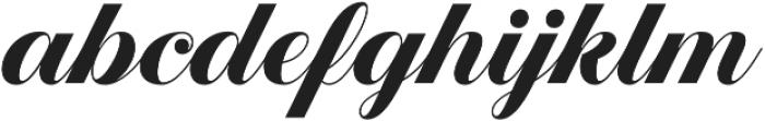 Estampa Script Bold otf (700) Font LOWERCASE