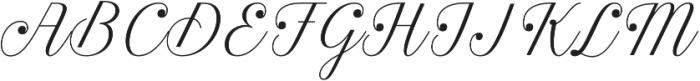 Estampa Script Extra Light otf (200) Font UPPERCASE