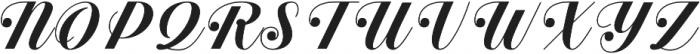 Estampa Script Semi Bold otf (600) Font UPPERCASE