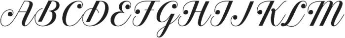 Estampa Script otf (400) Font UPPERCASE