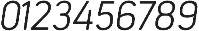 Estandar Rd ExtraLight Italic otf (200) Font OTHER CHARS