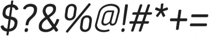Estandar Rd Light Italic otf (300) Font OTHER CHARS