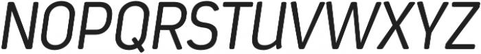 Estandar Rd Light Italic otf (300) Font UPPERCASE