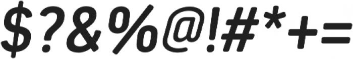 Estandar Rd SemiBold Italic otf (600) Font OTHER CHARS