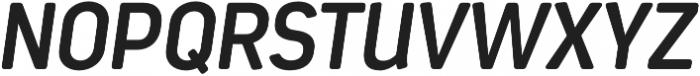 Estandar Rd SemiBold Italic otf (600) Font UPPERCASE