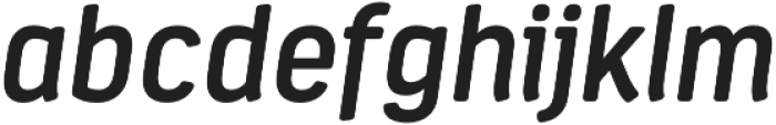 Estandar Rd SemiBold Italic otf (600) Font LOWERCASE