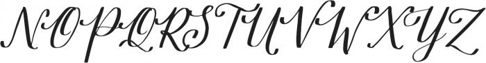 Estella otf (400) Font UPPERCASE