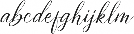 Estella otf (400) Font LOWERCASE