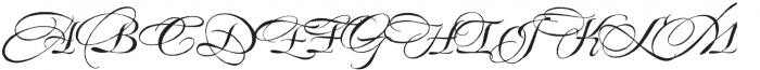 EstoniaSwashCaps otf (400) Font UPPERCASE