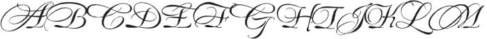 EstoniaSwashCaps otf (400) Font LOWERCASE
