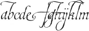 EstoniaSwashOne otf (400) Font UPPERCASE