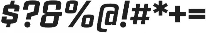 Estricta Black Italic Regular otf (900) Font OTHER CHARS