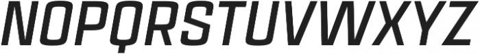 Estricta Bold Italic Regular otf (700) Font UPPERCASE