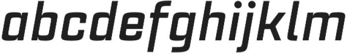 Estricta Bold Italic Regular otf (700) Font LOWERCASE