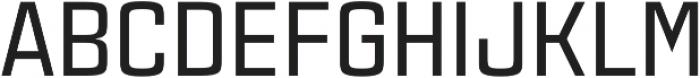 Estricta Medium Regular otf (500) Font UPPERCASE