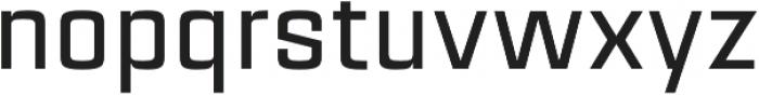 Estricta Medium Regular otf (500) Font LOWERCASE