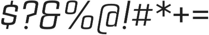 Estricta Regular Italic Regular otf (400) Font OTHER CHARS