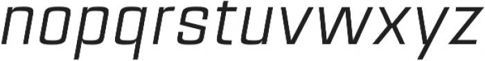 Estricta Regular Italic Regular otf (400) Font LOWERCASE