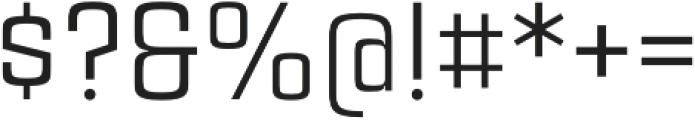 Estricta Regular Regular otf (400) Font OTHER CHARS