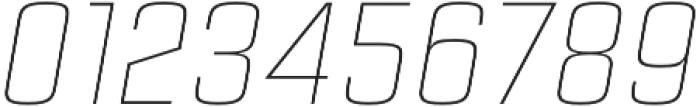 Estricta Thin Italic Regular otf (100) Font OTHER CHARS