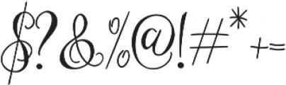 Eszty otf (400) Font OTHER CHARS