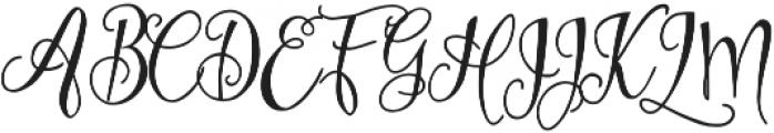 Eszty otf (400) Font UPPERCASE
