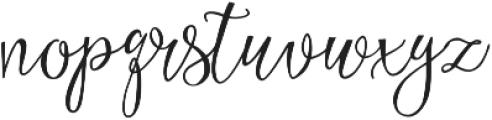 Eszty otf (400) Font LOWERCASE