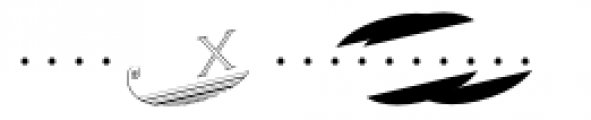 Escutcheon Monogram Font OTHER CHARS