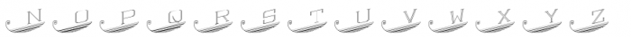 Escutcheon Monogram Font LOWERCASE