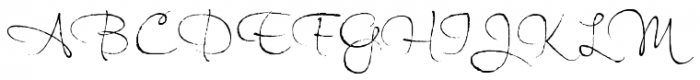 Estravaganza Font UPPERCASE