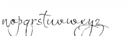 Estravaganza Font LOWERCASE