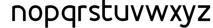 Esthetic Simplified 2 Font LOWERCASE