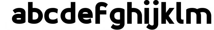 Esthetic Simplified 4 Font LOWERCASE