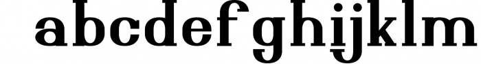Esthetic Simplified 6 Font LOWERCASE