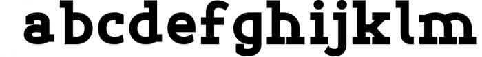 Esthetic Simplified 8 Font LOWERCASE