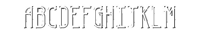 ESPY Font UPPERCASE