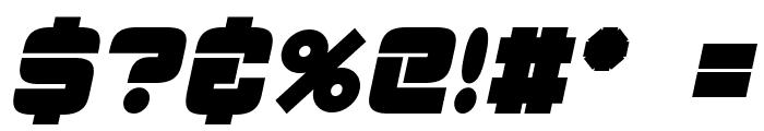 ESP_Bold_Italic Font OTHER CHARS
