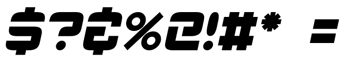 ESP_Italic Font OTHER CHARS