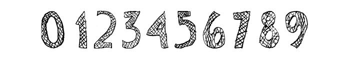 Escaned Font OTHER CHARS