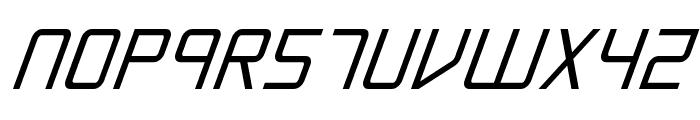 Escape Artist Bold Italic Font LOWERCASE