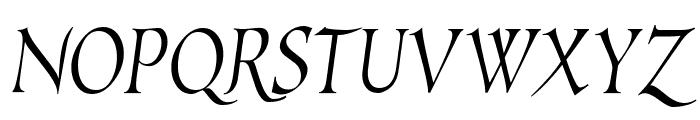 EscribaUT Italic Font UPPERCASE