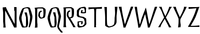 Eskargot Font UPPERCASE