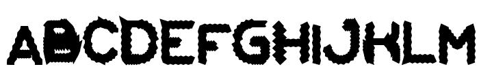 Eskimo and Polar Bear Font UPPERCASE