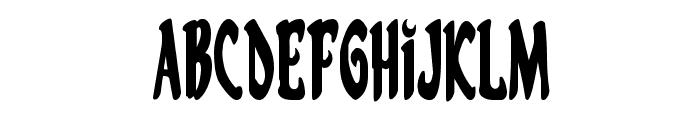 Eskindar Condensed Font UPPERCASE
